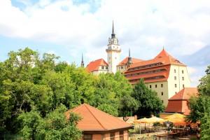 Der Hausmannsturm des Schlosses Hartenfels