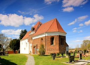 Romanische Kirche in Scholitz