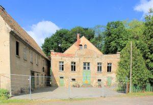"""Gasthaus """"Zum Gambrinus"""" Strelln (Zustand Mai 2017)"""