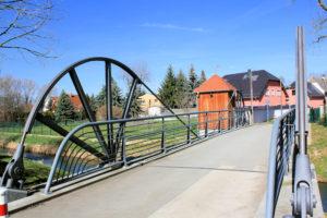 Parthebrücke An den Pferdnerkabeln Thekla