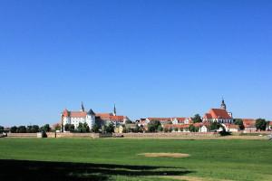 Torgau an der Elbe, Kreisstadt des Landkreises Nordsachsen