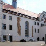 Rathaus Torgau, Hofseite