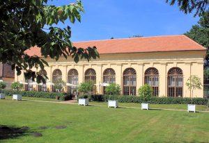 Orangerie im Schlosspark Luisium Waldersee