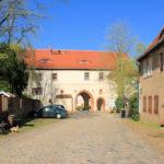Äußeres Torhaus des Klosters Wechselburg