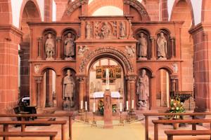 Lettner in der Stiftskirche Wechselburg