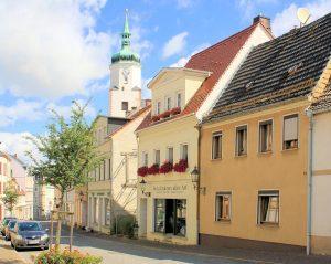 Wohn- und Geschäftshaus Bahnhofstraße 9 Wurzen
