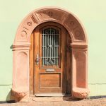Wohnhaus Postgasse 16 Wurzen, Portal