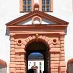 Jagdschloss Augustusburg, Hauptportal