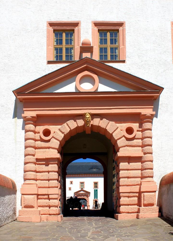 Jagdschloss Augustusburg Bei Chemnitz Landkreis
