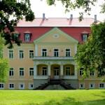Barockschloss Ammelshain, Parkseite