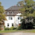 Barockes Herrenhaus in Auligk bei Leipzig (Rittergut Untern Teils, Oberhof)