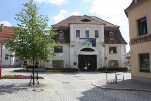 Barockes Torhaus des Schlosses Brandis
