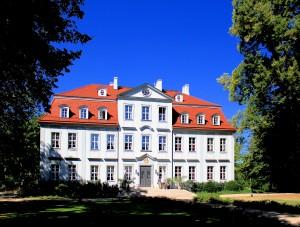 Barockschloss in Güldengossa bei Leipzig