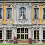 Jagdhaus Kössern, Fassadendetail