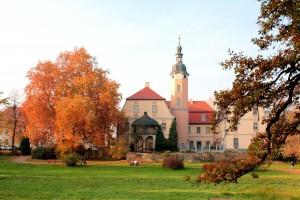 Barockschloss in Machern bei Leipzig