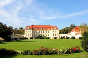 Barockschloss in Nischwitz bei Wurzen