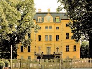 Barockschloss Wiederau bei Leipzig