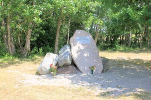 Gedenkstein Werbelin bei Brodenaundorf