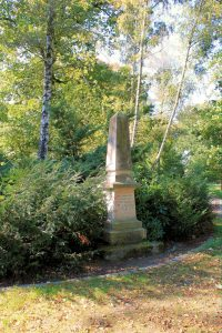 Denkmal für Wilhelm Ferdinand Mitscherlich in Eilenburg