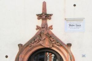 Blücher-Gedenktafel am Wohnhaus Prellerstraße 54/56 Gohlis