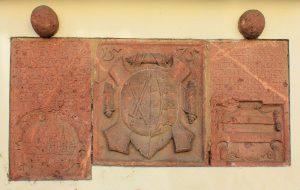 Inschrifttafeln am Pappischen Tor in Grimma