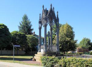 Denkmal Prinz von Hessen-Homburg Großgörschen