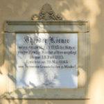 Großzschocher, Gedenktafel Th. Körner
