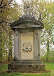 Gedenkstein für Lothar Graf von Hohenthal Hohenprießnitz