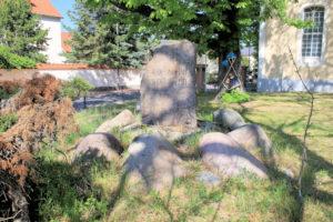 Gedenkstein Völkerschlacht in Holzhausen