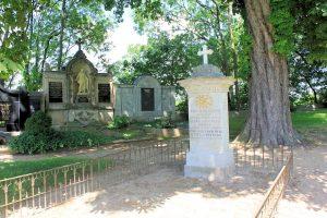 Grabmal Familie von Christian August Eulitz in Jahna
