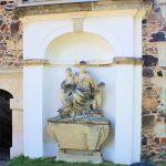 Klitzschen, Grabmal Baronin auf Klitzschen