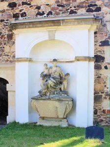 Grabmal für Christine Friederike Baronin auf Klitzschen
