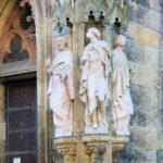 Apostelportal der Thomaskirche Leipzig