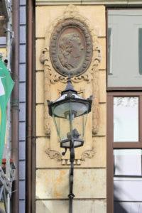 Bildnismedaillons am Kleinen Joachimsthal Leipzig, Friedrich Schiller