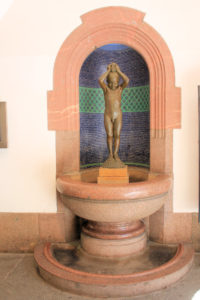 "Brunnen ""Badender Junge"" Leipzig"