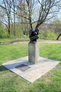 Denkmal für die ermordeten Leipziger Sinti und Roma in Leipzig