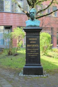 Denkmal für Friedrich Arnold Brockhaus in Leipzig