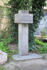 Denkmal für die Matthäikirche in Leipzig