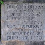 Zentrum, Heinrich von Morungen