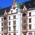 Zentrum, Gedenksäule Nikolaikirchhof