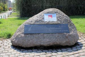 Gedenkstein für die Gründung des Allgemeinen Deutschen Arbeitervereins (ADAV) Leipzig