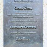 Zentrum, Gedenktafel C. Wieck/F. Schiller/J. Paul