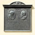 Zentrum, Gedenktafel Bötticher/Bormann