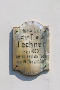 Gedenktafel für Gustav Theodor Fechner in Leipzig