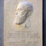 Zentrum, Gedenktafel Wilhelm Wundt