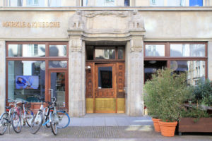 Portal Haus Felsenstein Leipzig