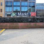 """Gedenktafel """"Historische Ereignisse auf dem Marktplatz"""" in Leipzig"""
