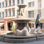 Zentrum, Lipsia-Brunnen