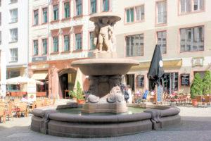 Lipsia-Brunnen Leipzig