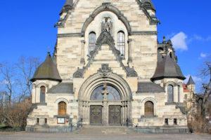 Portal der St. Michaeliskirche in Leipzig